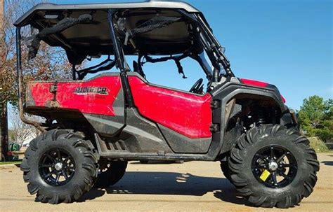 2016 2019 honda pioneer 1000 lift kit 31 quot tires arched a arms side by side atv utv parts