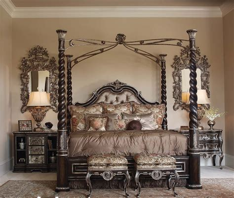 Cheap Canopy Beds Luxurious Master Bedroom Ideas With Elegant Iron Canopy
