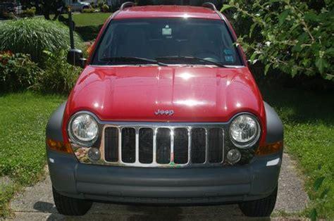 2005 jeep liberty sport mpg sell used 2005 jeep liberty sport 4x4 crd 25 mpg bumper