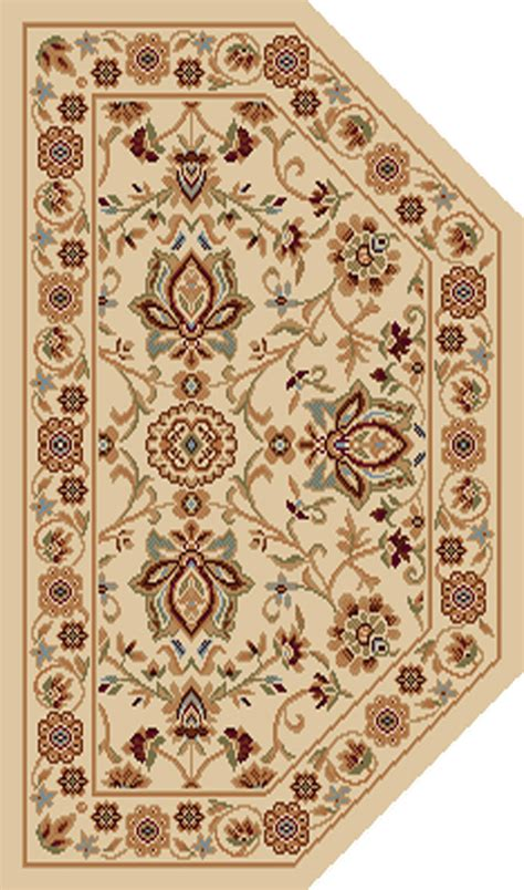 Ivory Persian Area Rug 2x3 Hearth Oriental Carpet 3207 Area Rugs 2x3