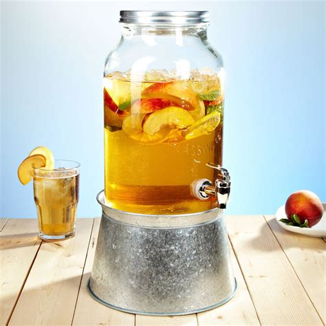 drink dispenser jar beverage dispenser with tub stand the