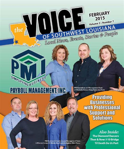 the voice of pensioners february 2015 february 2015 by the voice of southwest louisiana issuu