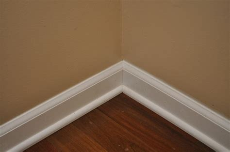 Modern Baseboard Styles by How To Install Baseboard And Shoe Molding For Hardwood