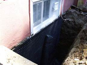 basement waterproofing supplies stop leaking basement from outside without tearing your