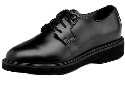 black oxford work shoes rocky work shoes mens polishable dress leather oxford