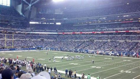 lucas oil stadium section  home  indianapolis colts