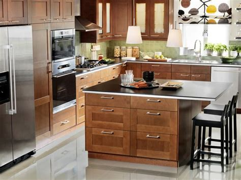 medium brown kitchen cabinets adel medium brown ikea kitchen cabinets ideas for the