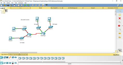 subnetting tutorial in packet tracer 8 2 1 4 packet tracer designing and implementing a vlsm