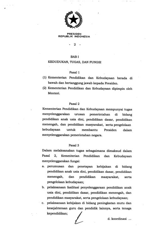 Peraturan Presiden R I No 4 Tahun 2015 Tentang Pengadaan Barang Jasa peraturan presiden no 14 tahun 2015 tentang kementerian pendidikan da