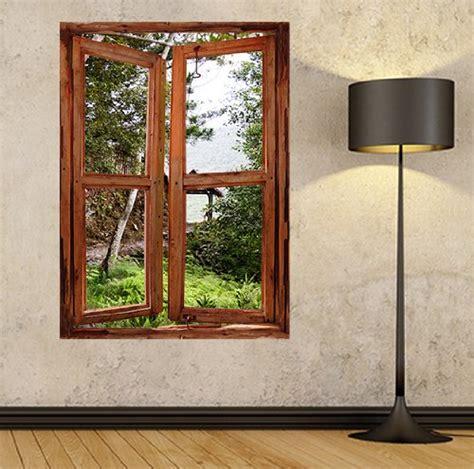 Fototapete Fenster Garten by Illusion Fenster View Wand Wandbild Fenster View Fenster