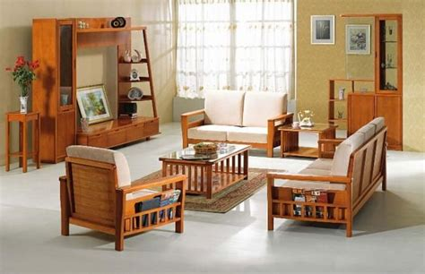 wooden sofa living room modern wooden sofa furniture sets designs for small living