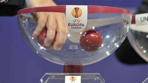 teste di serie europa league teste di serie sorteggio uefa europa league uefa europa