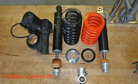 Federbein Motorrad Reparatur by Esa Reparatur