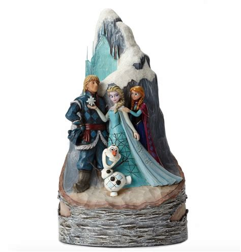 jim shore disney jim shore disney traditions frozen carved by toyslife