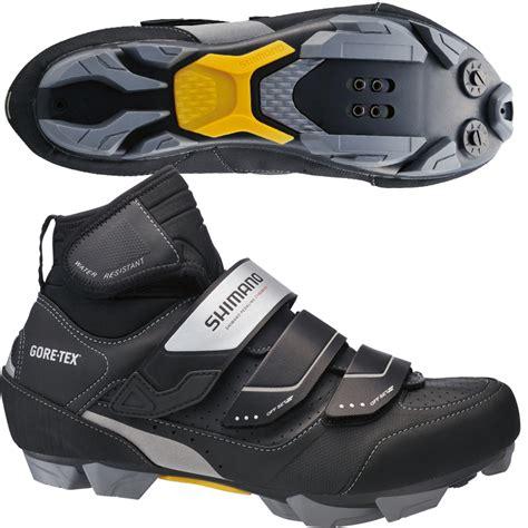 waterproof mountain bike shoes shimano s mw81 waterproof tex mountain bike