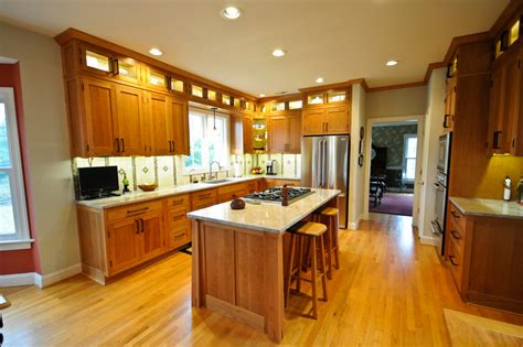 craftsman style kitchen cabinets arts and crafts kitchen cabinets