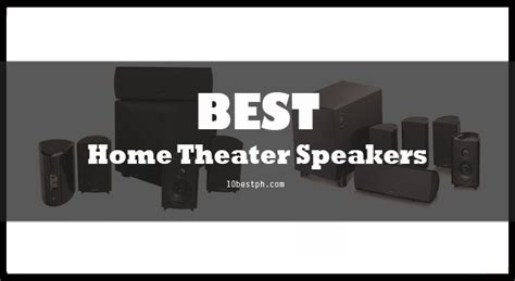 10 best home theater speakers philippines 2017 lazada