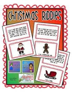 clip art by carrie teaching first christmas holiday riddles