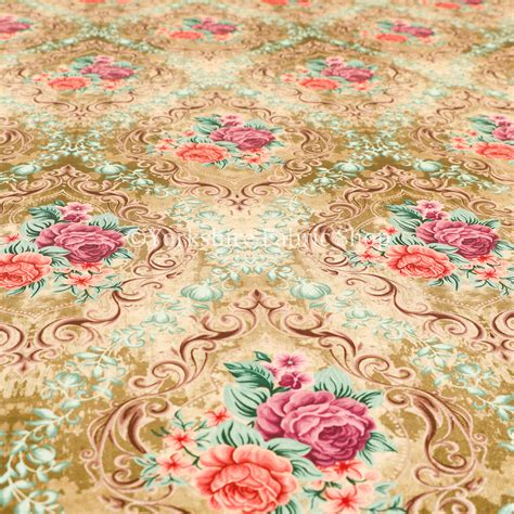 velvet fabric with pattern delight shiny floral printed pattern velvet fabric in gold