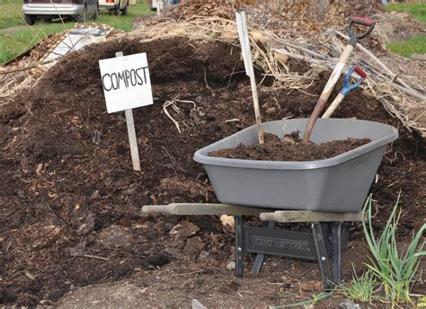 turn manure into compost for your garden osu extension