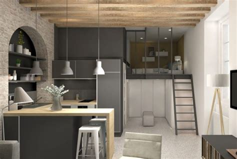 Amenagement Cuisine Studio Montagne by Am 233 Nagement R 233 Novation Maison Appartement Lyon