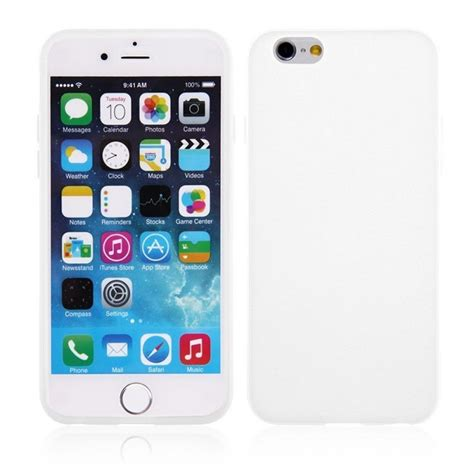 Silicone Iphone 6 Plus coque en silicone blanche iphone 6 plus tout pour phone