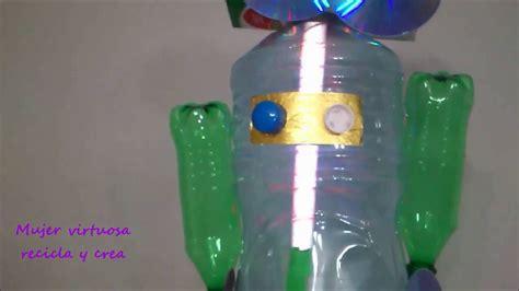 Modelos De Gigantografias En Imagenes De Msterial Reciclable | idea para hacer una antorcha robot de material reciclable