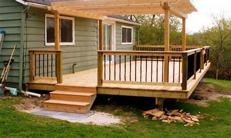 small backyard decks small pits for decks small deck