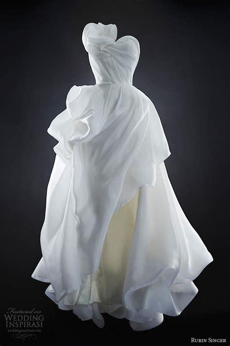how to make draping dress rubin singer 2014 wedding dresses wedding inspirasi