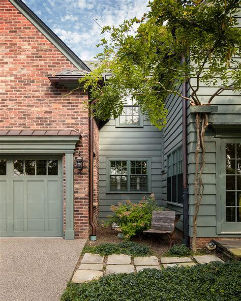 garage door trim ideas exterior craftsman with brick paving craftsman style beeyoutifullife
