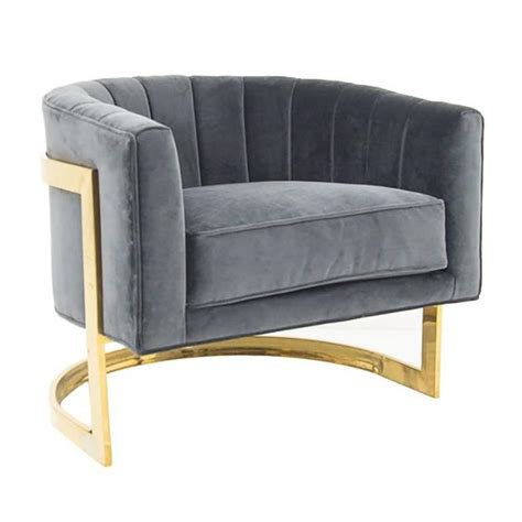 modern deco furniture deco styled armchair with brass frame at 1stdibs