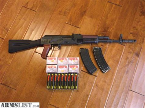 Ak74 Plum Furniture by Armslist For Sale Ak 74 W Plum Furniture And 540 Rds