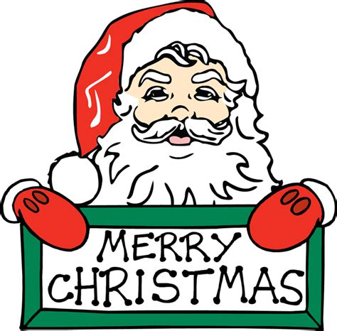 pictures  merry christmas signs clipart