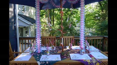 surprise birthday party decorations youtube