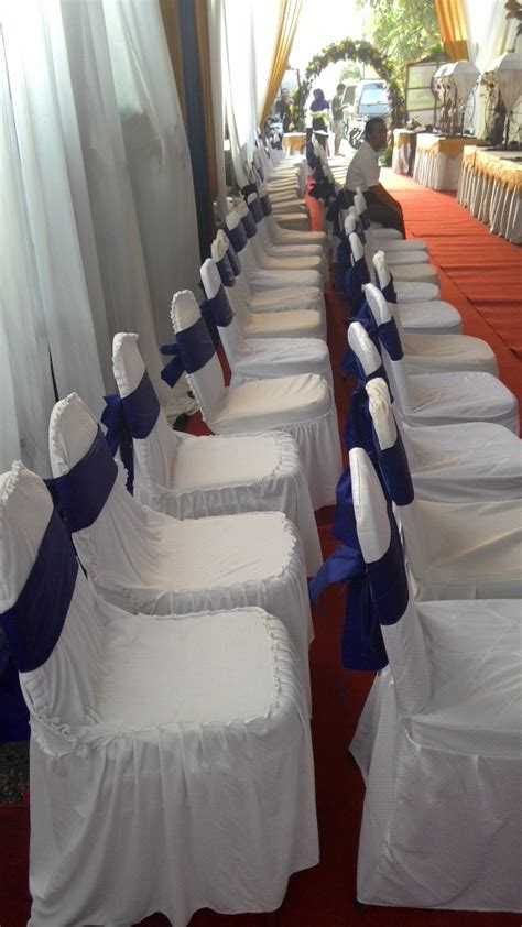 Cover Meja Prasmanan Putih Biru by Kursi Futura Ns Tenda