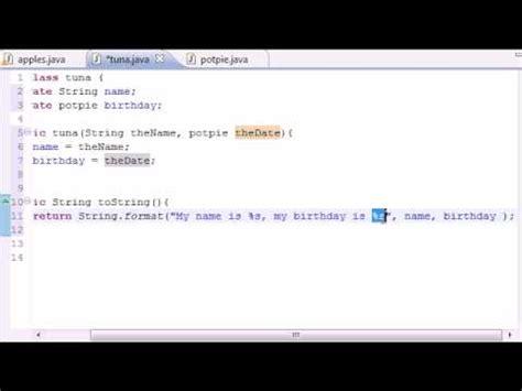 youtube tutorial java programming java programming tutorial 43 composition youtube