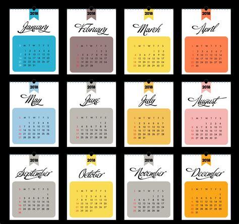 design a calendar free elegant calendar 2018 design calendar 2018