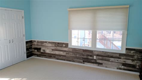 Prefab Wainscoting by Pre Fab Pallet Wood Wall Panels Sustainable Lumber Company