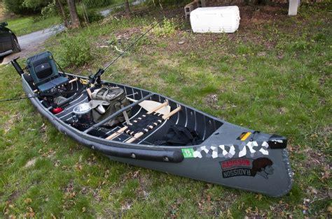 electric trolling motor on a canoe diy canoe trolling motor mount easy build