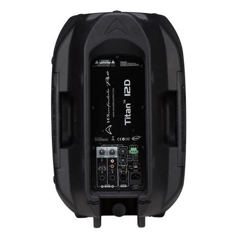 Mixer Wharfedale titan 12 quot active speakers 1000w x1204usb live mixer