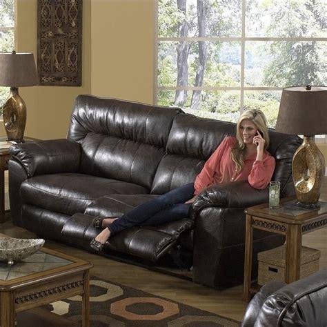 catnapper nolan reclining sofa catnapper nolan leather power reclining sofa in godiva