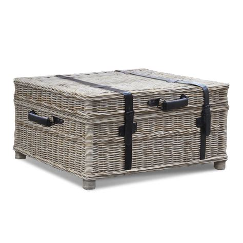 woven coffee table trunk padma s plantation