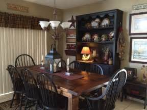 my dining room primitive and country ideas