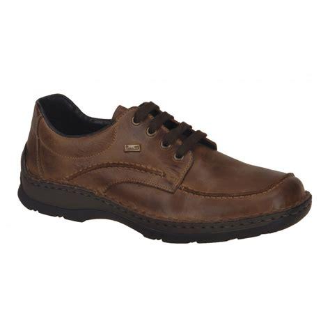 rieker mens anton brown waterproof shoe 05312 26