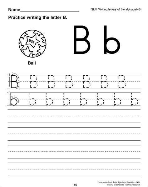 worksheets for preschool letter b 11 best images of worksheets dot to dot j dots game