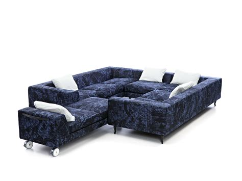 sofa dacron sectional dacron 174 sofa zliq island by moooi 169 design