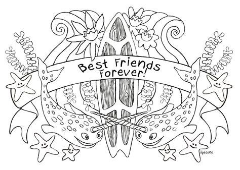 coloring pages for your best friend best friend quotes coloring pages quotesgram