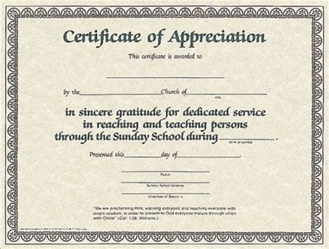 christian certificate template 10 best images of religious certificate of appreciation