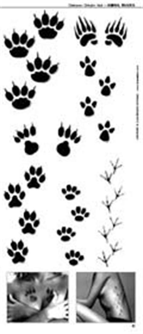 tattoo animal tracks idea tattoo n 176 110 juli 2006