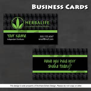 herbalife business card templates herbalife business card digital by